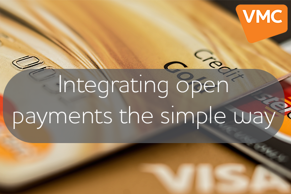 Integrating open payments the simple way