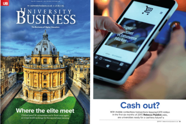 VMC in University Business Magazine